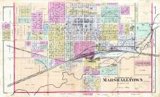 Marshalltown - South, Marshall County 1885